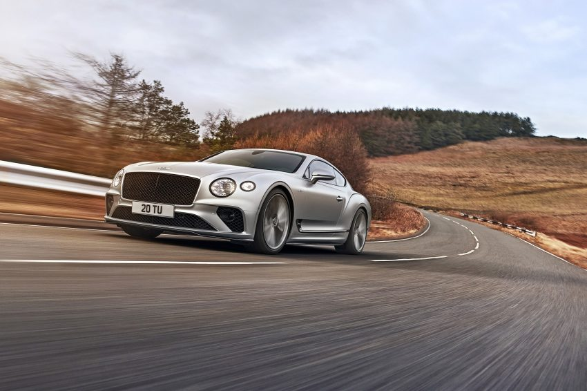 2022 Bentley Continental GT Speed - Front Three-Quarter Wallpapers 850x566 #1