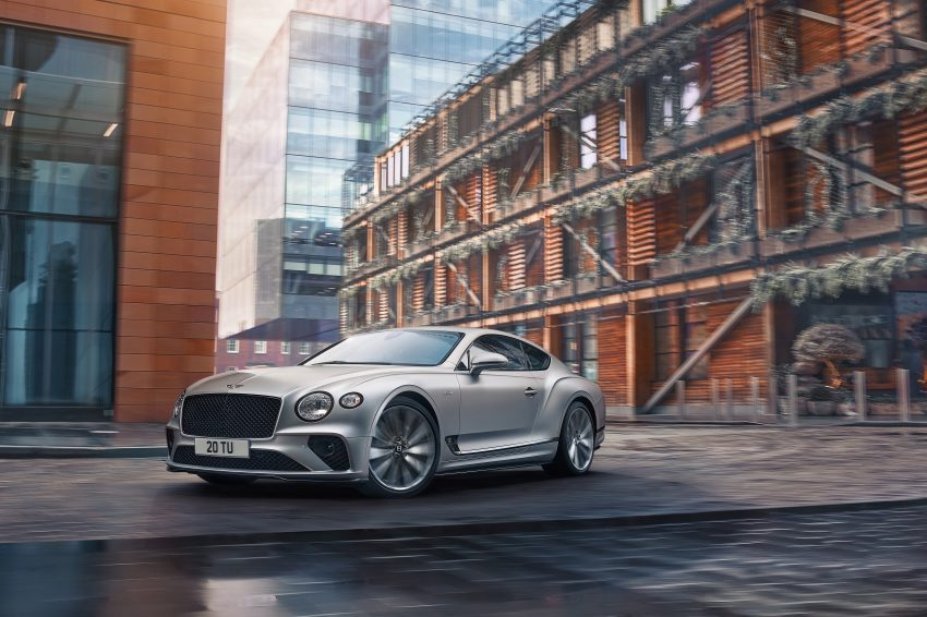 2022 Bentley Continental GT Speed - Front Three-Quarter Wallpapers 850x566 #2