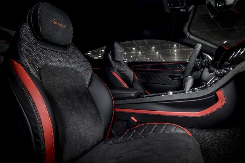 2022 Bentley Continental GT Speed - Interior, Front Seats Wallpapers 850x566 #21