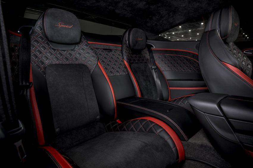 2022 Bentley Continental GT Speed - Interior, Front Seats Wallpapers 850x566 #20