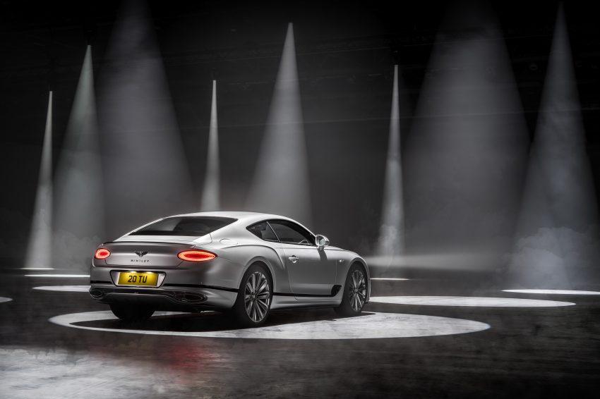 2022 Bentley Continental GT Speed - Rear Three-Quarter Wallpapers 850x566 #5