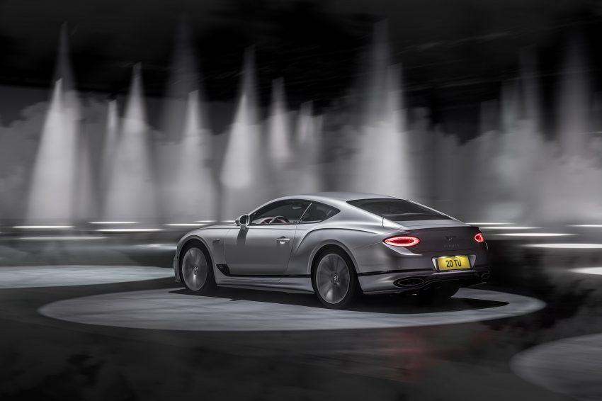 2022 Bentley Continental GT Speed - Rear Three-Quarter Wallpapers 850x566 #6