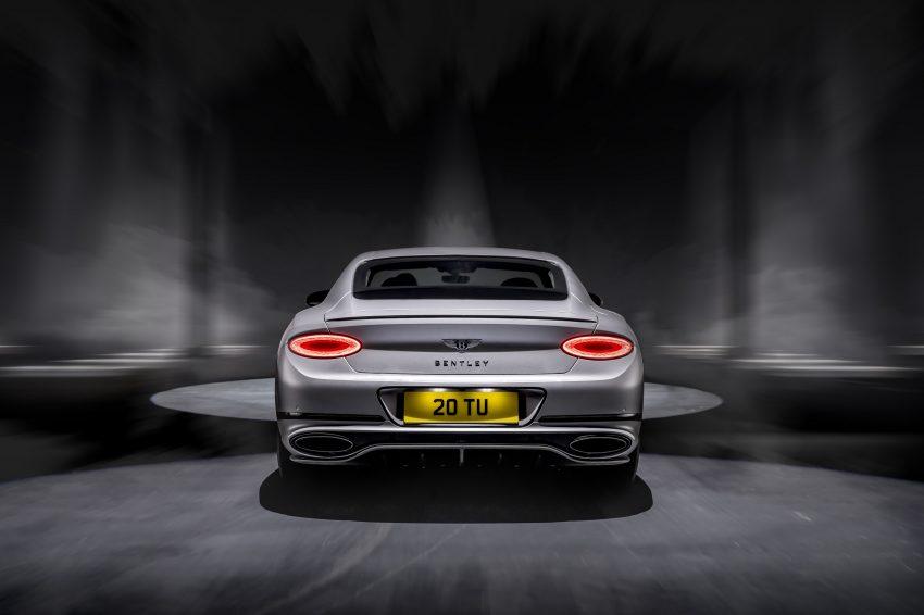2022 Bentley Continental GT Speed - Rear Wallpapers 850x566 #7