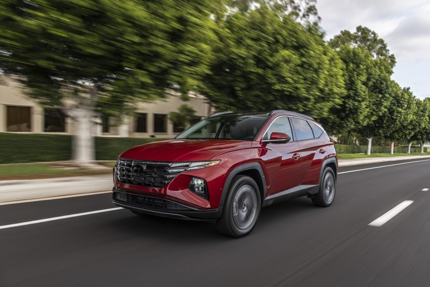 2022 Hyundai Tucson - Front Three-Quarter Wallpapers 850x567 #7