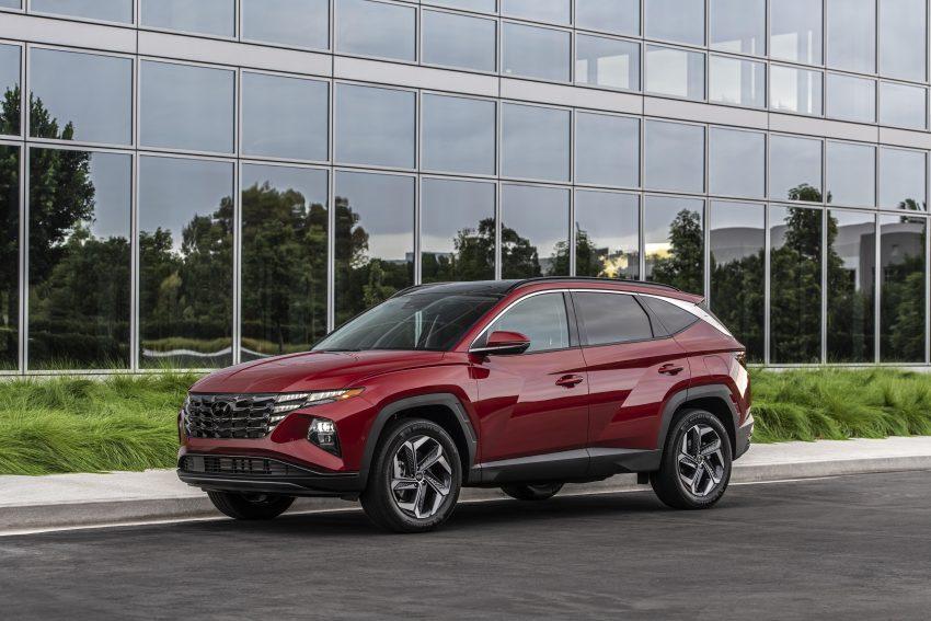 2022 Hyundai Tucson - Front Three-Quarter Wallpapers 850x567 #11