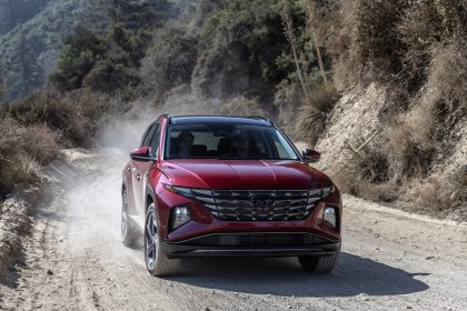 2022 Hyundai Tucson - Front Wallpapers 420x280