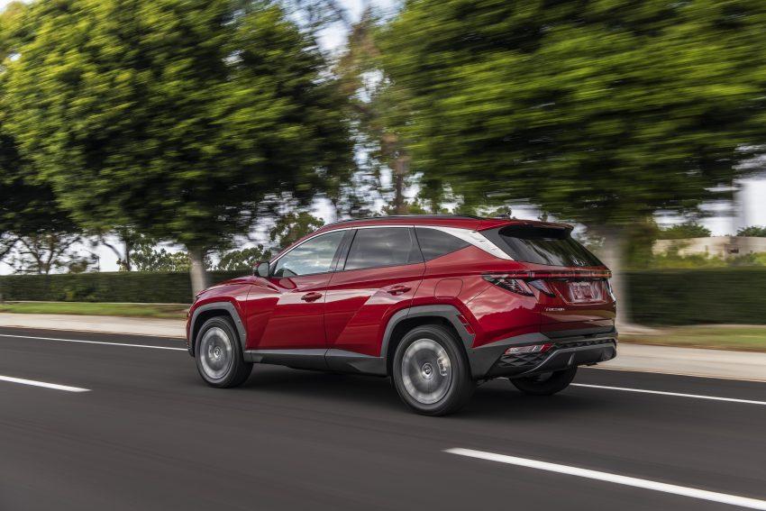 2022 Hyundai Tucson - Rear Three-Quarter Wallpapers 850x567 #9