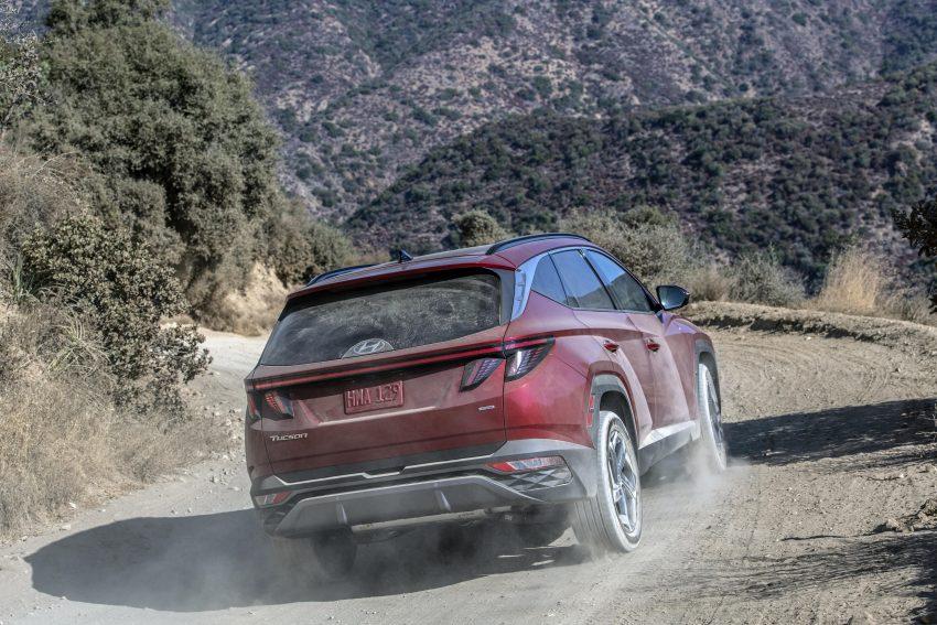 2022 Hyundai Tucson - Rear Three-Quarter Wallpapers 850x567 #5