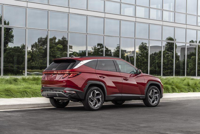 2022 Hyundai Tucson - Rear Three-Quarter Wallpapers 850x567 #12