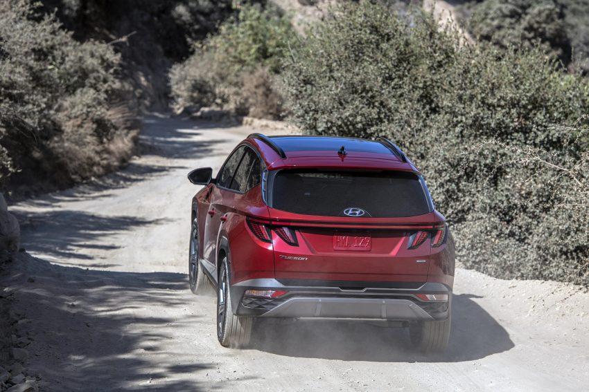 2022 Hyundai Tucson - Rear Wallpapers 850x567 #6