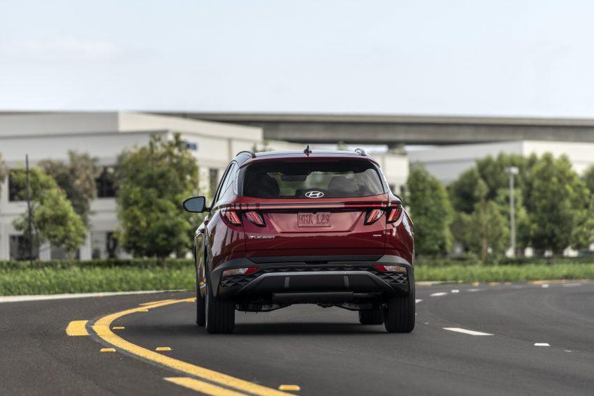 2022 Hyundai Tucson - Rear Wallpapers 850x567 #10