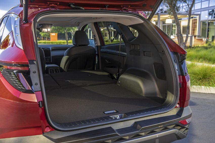 2022 Hyundai Tucson - Trunk Wallpapers 850x567 #22