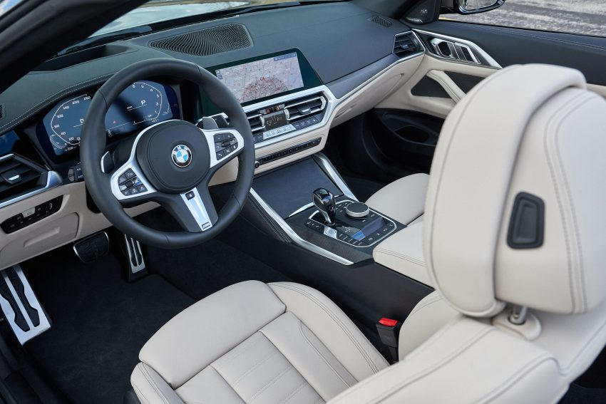 2021 BMW M440i xDrive Convertible - Interior Wallpapers 850x567 #14