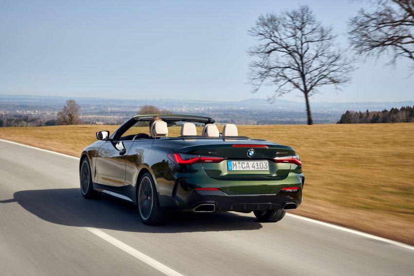 2021 BMW M440i xDrive Convertible - Rear Three-Quarter Wallpapers 850x567 #5