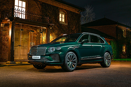 2021 Bentley Mulliner Bentayga Hybrid - Front Three-Quarter Wallpapers 420x280