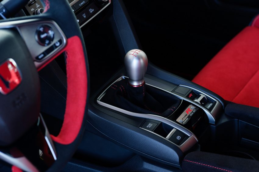 2021 Honda Civic Type R Limited Edition - Central Console Wallpapers 850x566 #32