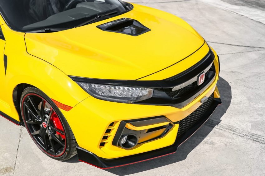 2021 Honda Civic Type R Limited Edition - Detail Wallpapers 850x566 #22