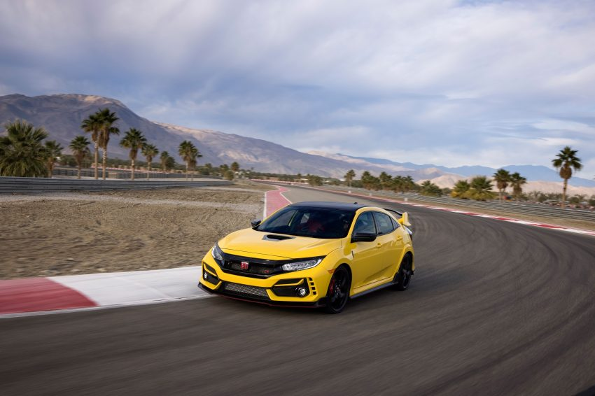 2021 Honda Civic Type R Limited Edition - Front Three-Quarter Wallpapers 850x566 #2