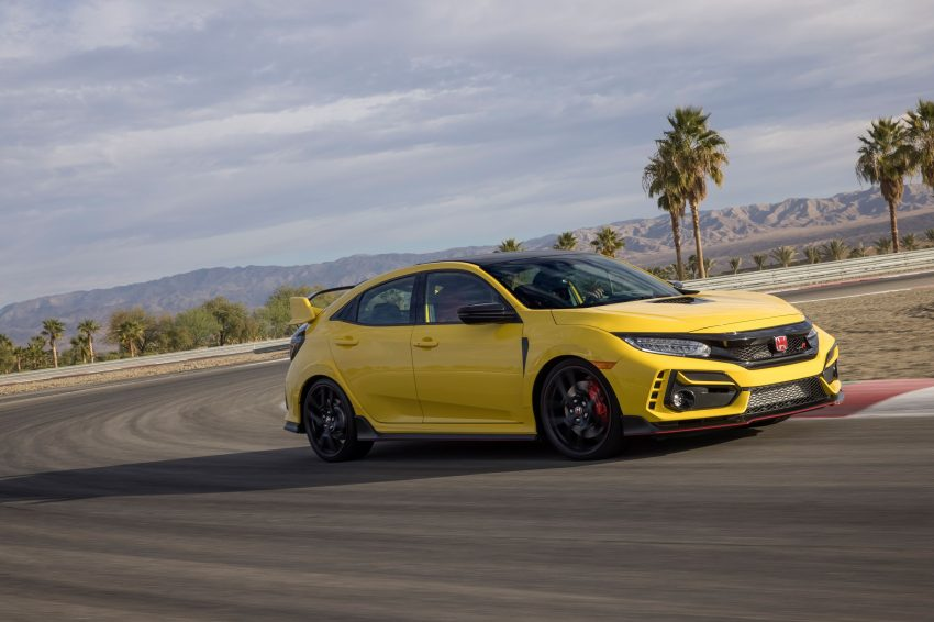 2021 Honda Civic Type R Limited Edition - Front Three-Quarter Wallpapers 850x566 #3