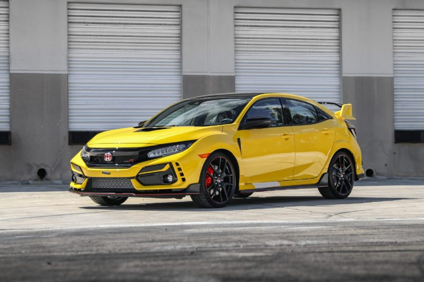 2021 Honda Civic Type R Limited Edition - Front Three-Quarter Wallpapers 850x566 #16