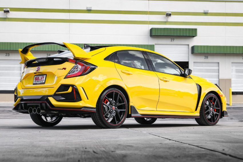 2021 Honda Civic Type R Limited Edition - Rear Three-Quarter Wallpapers 850x566 #17