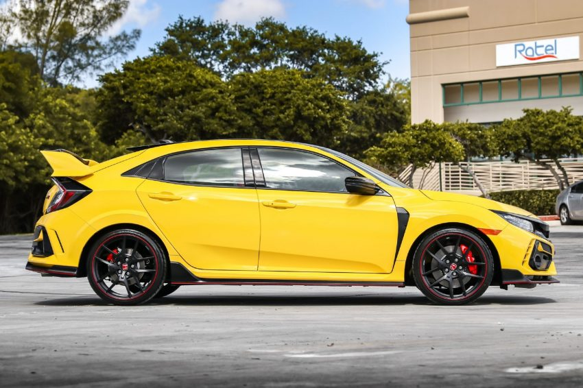 2021 Honda Civic Type R Limited Edition - Side Wallpapers 850x566 #20