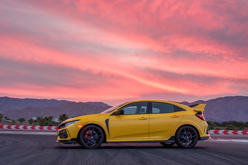 2021 Honda Civic Type R Limited Edition - Side Wallpapers 850x566 #14