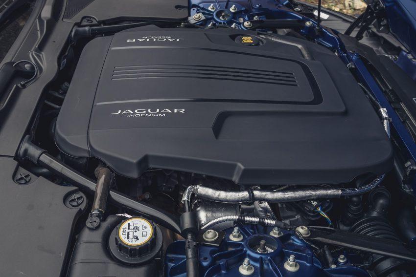 2021 Jaguar F-Type P300 Convertible - Engine Wallpapers 850x567 #21