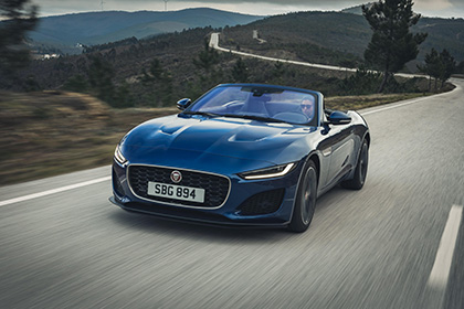 2021 Jaguar F-Type P300 Convertible - Front Wallpapers 420x280