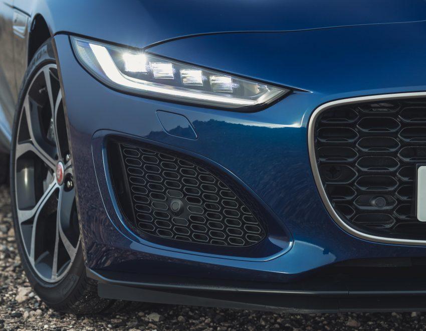 2021 Jaguar F-Type P300 Convertible - Headlight Wallpapers 850x660 #14