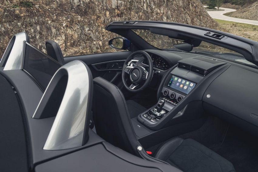 2021 Jaguar F-Type P300 Convertible - Interior, Cockpit Wallpapers 850x567 #24