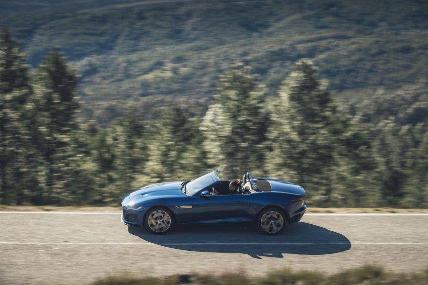 2021 Jaguar F-Type P300 Convertible - Side Wallpapers 850x567 #9