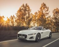 2021 Jaguar F-Type P450 R-Dynamic Convertible - Front Three-Quarter Wallpapers 190x150