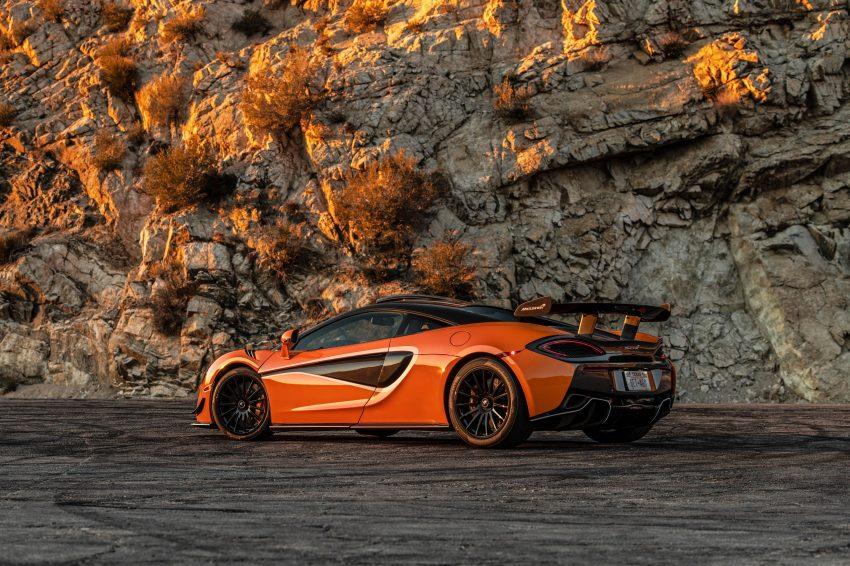 2021 McLaren 620R - Rear Three-Quarter Wallpapers 850x566 #11