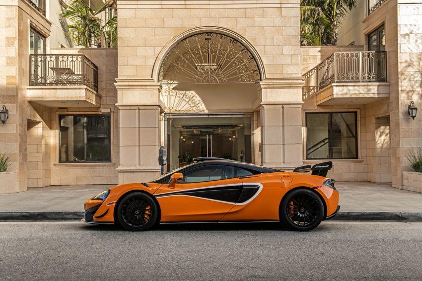 2021 McLaren 620R - Side Wallpapers 850x566 #23