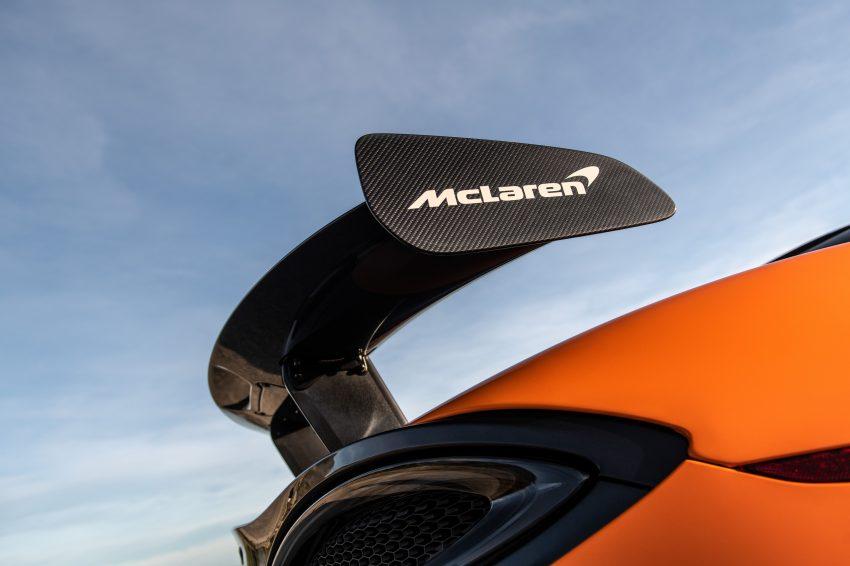 2021 McLaren 620R - Spoiler Wallpapers 850x566 #30