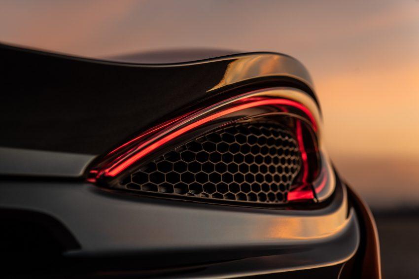2021 McLaren 620R - Tail Light Wallpapers 850x566 #32