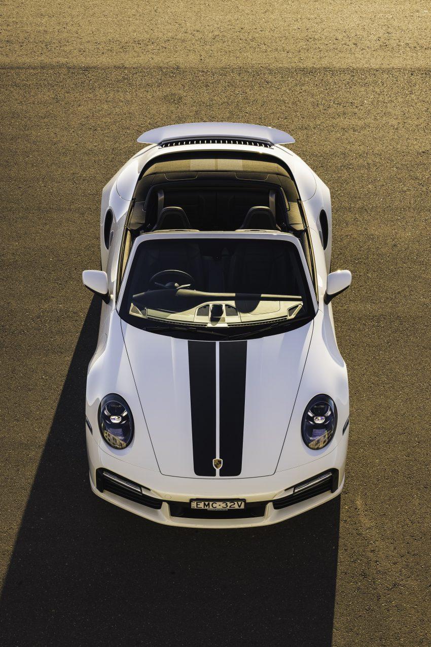 2021 Porsche 911 Turbo Cabriolet [AU-spec] - Front Phone Wallpapers 850x1275 #3