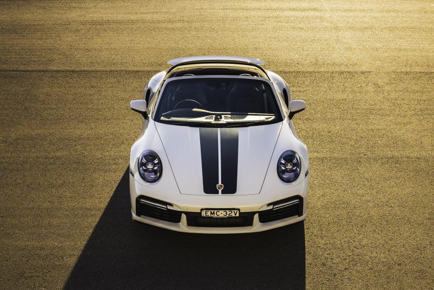 2021 Porsche 911 Turbo Cabriolet [AU-spec] - Front Wallpapers 850x567 #5