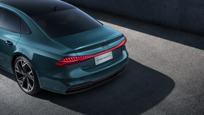 2022 Audi A7L 55 TFSI quattro S line edition one - Detail Wallpapers 850x479 #12