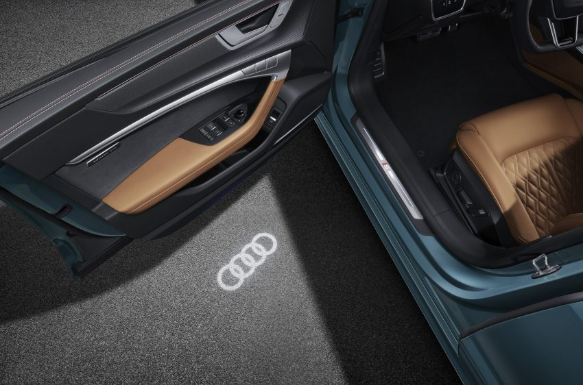 2022 Audi A7L 55 TFSI quattro S line edition one - Door Sill Wallpapers 850x562 #15