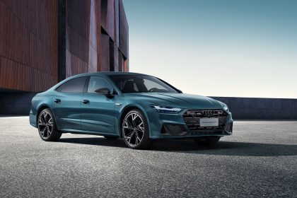 Download 2022 Audi A7L 55 TFSI quattro S line edition one HD Wallpapers
