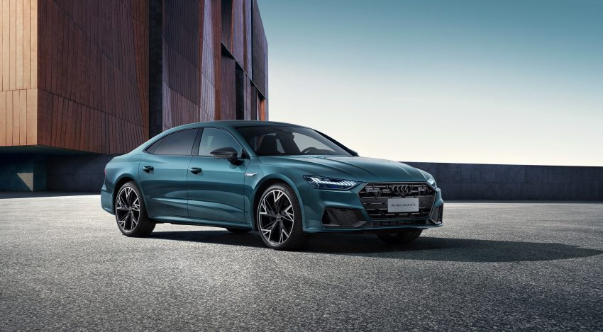 2022 Audi A7L 55 TFSI quattro S line edition one - Front Three-Quarter Wallpapers 850x469 #1