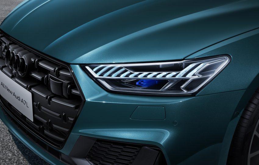 2022 Audi A7L 55 TFSI quattro S line edition one - Headlight Wallpapers 850x541 #10