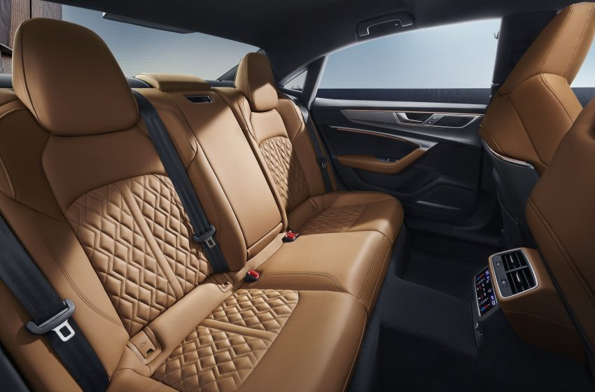 2022 Audi A7L 55 TFSI quattro S line edition one - Interior, Rear Seats Wallpapers 850x560 #20