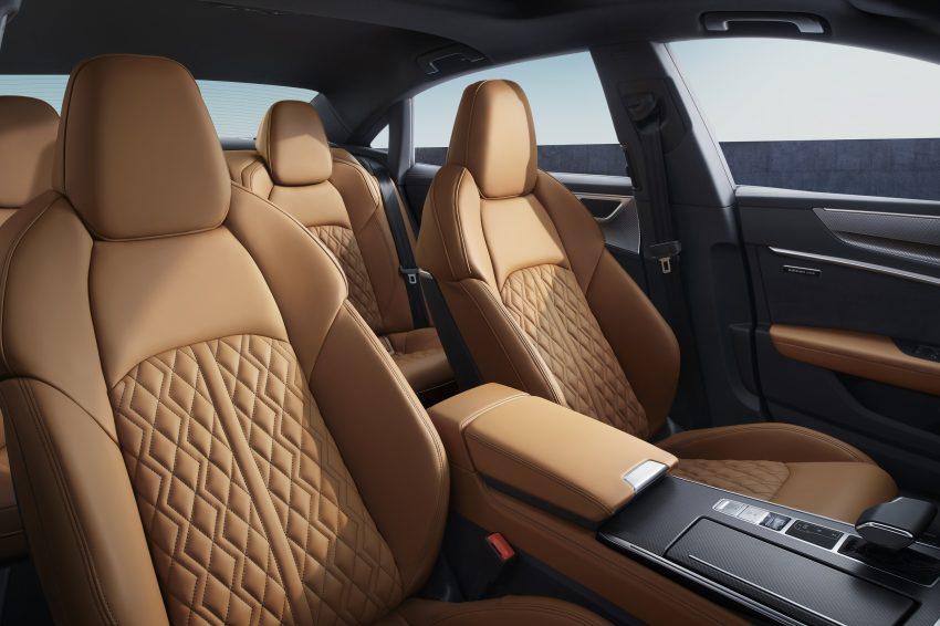 2022 Audi A7L 55 TFSI quattro S line edition one - Interior, Seats Wallpapers 850x566 #21