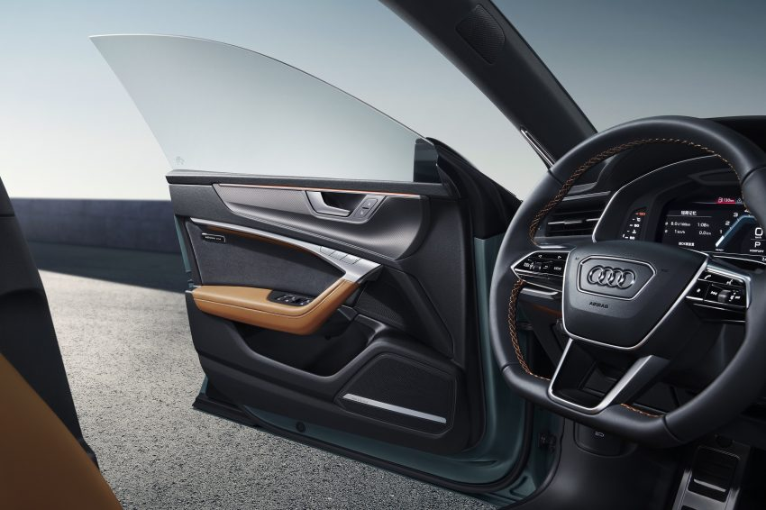 2022 Audi A7L 55 TFSI quattro S line edition one - Interior, Steering Wheel Wallpapers 850x566 #22