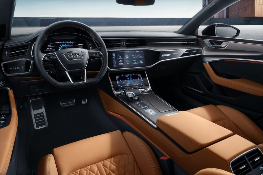 2022 Audi A7L 55 TFSI quattro S line edition one - Interior Wallpapers 850x566 #16