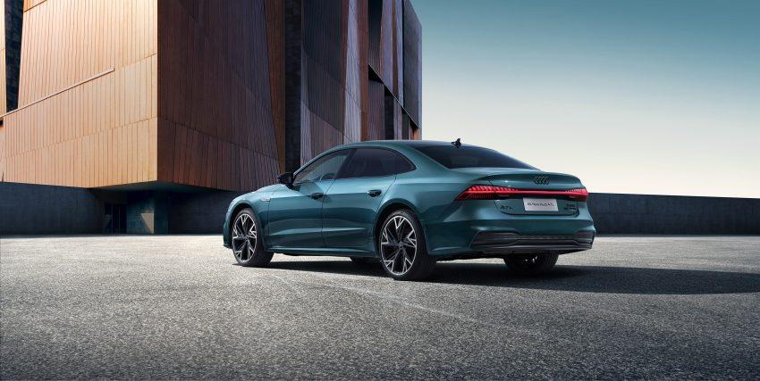 2022 Audi A7L 55 TFSI quattro S line edition one - Rear Three-Quarter Wallpapers 850x427 #3