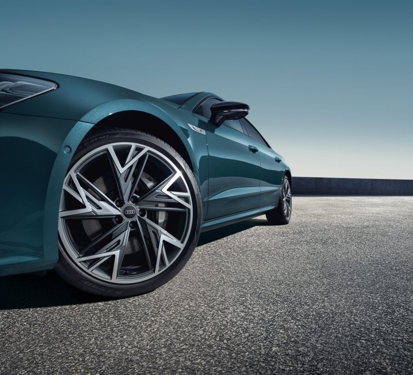 2022 Audi A7L 55 TFSI quattro S line edition one - Wheel Wallpapers 850x772 #8